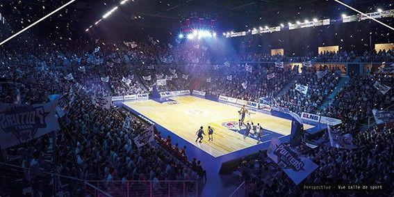 L'Arena Futuroscope accueilla également des grandes compétitions de basket, de tennis ou encore de hockey