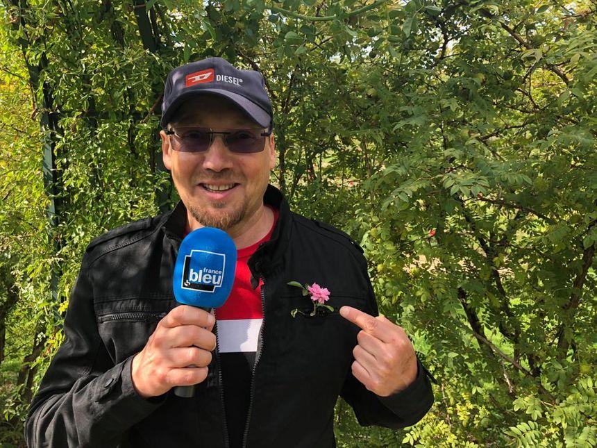 Christophe Galnon - Guide de la roseraie