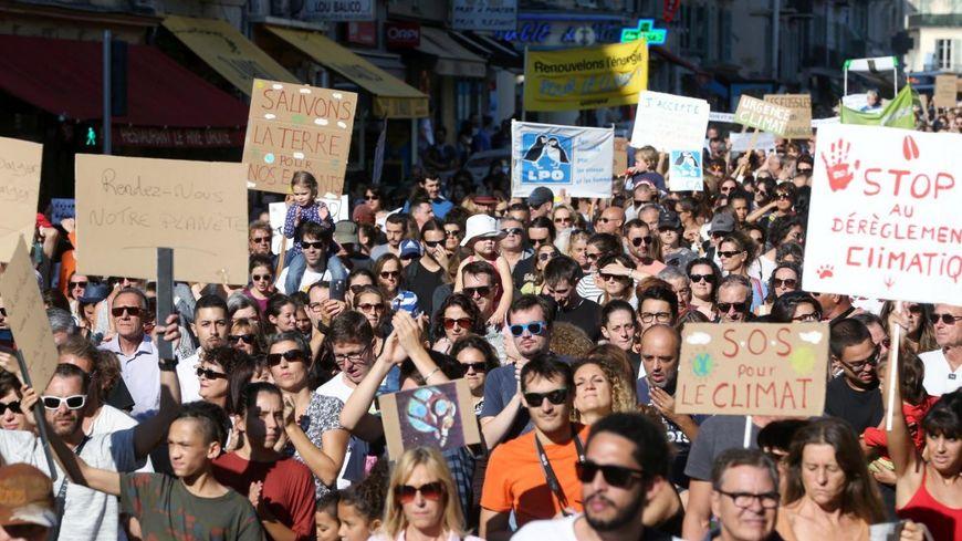 Marche pour le climat à Nice le 20 juin 2019