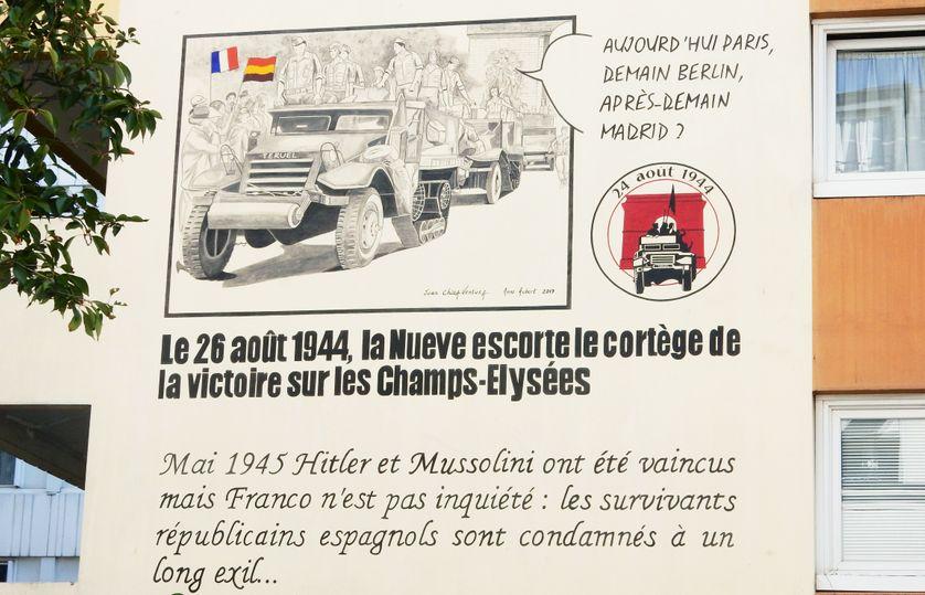 Liberation De Paris La Nueve Et Ses Republicains Espagnols