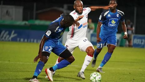 Football : match nul entre les Chamois niortais et Caen en Ligue 2