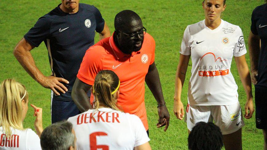 Frédéric Mendy et son staff entament leur première saison avec l'équipe féminine du MHSC