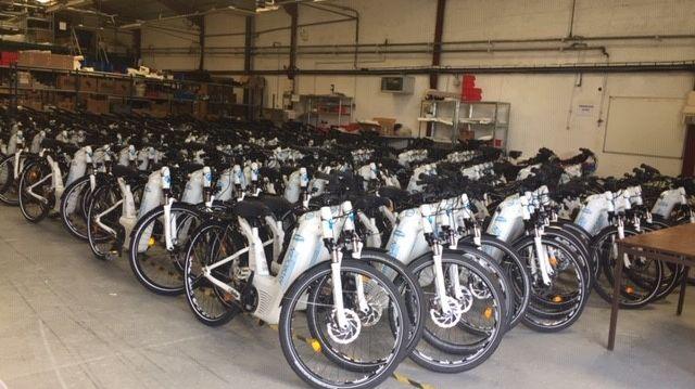 Les 200 vélos à hydrogène utilisés lors du G7