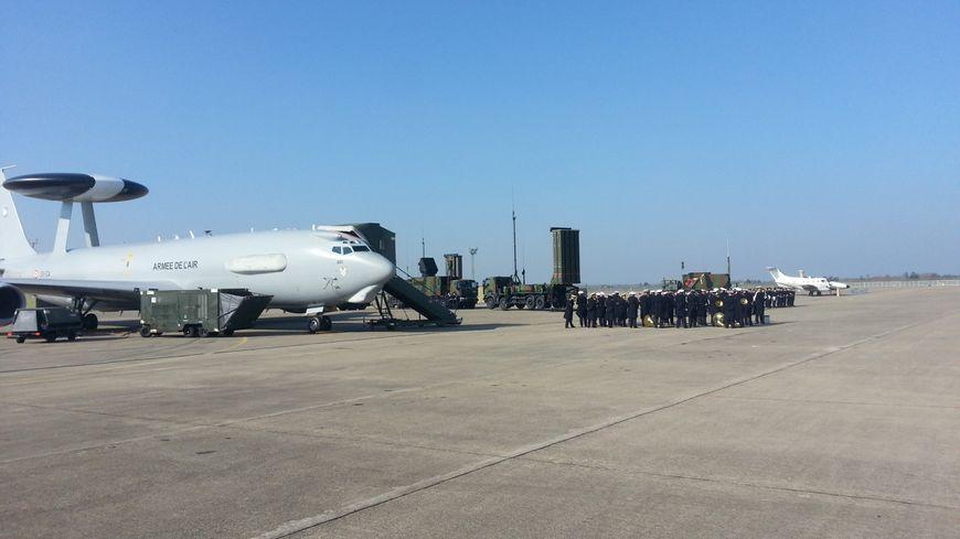 Les militaires de la base aérienne d'Avord participent à la sécurisation du G7 de Biarritz