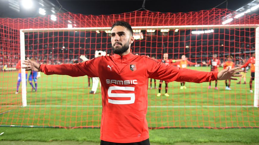 Romain Del Castillo auteur du second but rennais