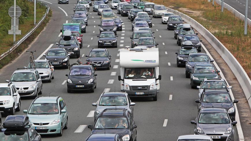 Le pic de bouchons a été atteint ce samedi à 12h10 avec 608 km d'embouteillages cumulés.