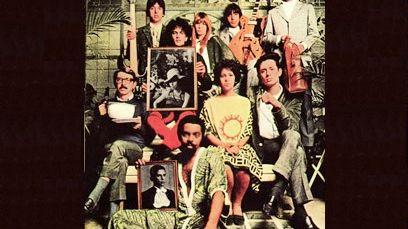 "Pochette de l'album ""Tropicalia ou Panis et Circenses"" album réunissant notamment Gilberto Gil, Caetano Veloso, Tom Zé, Os Mutantes et Gal Costa"