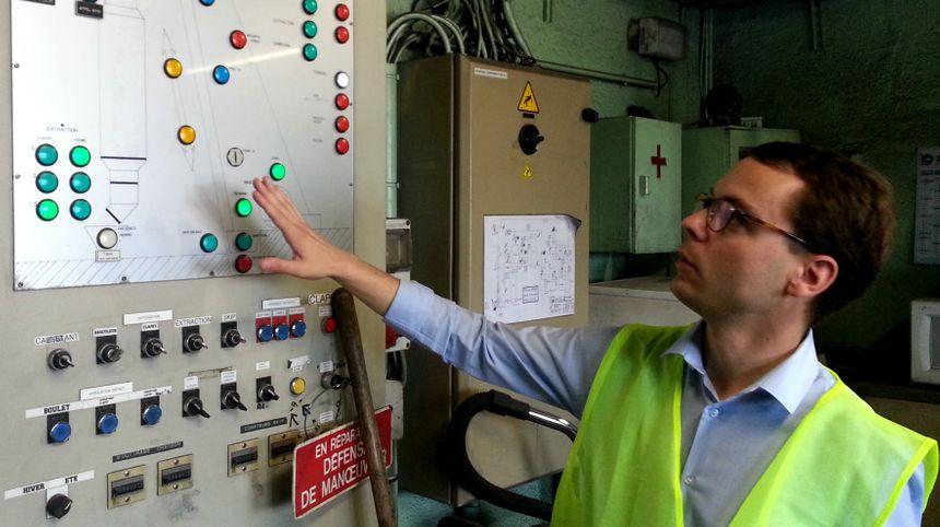 Ivan Girardot, le vice président du Groupe Bordet, produit 5 000 tonnes de charbon de bois