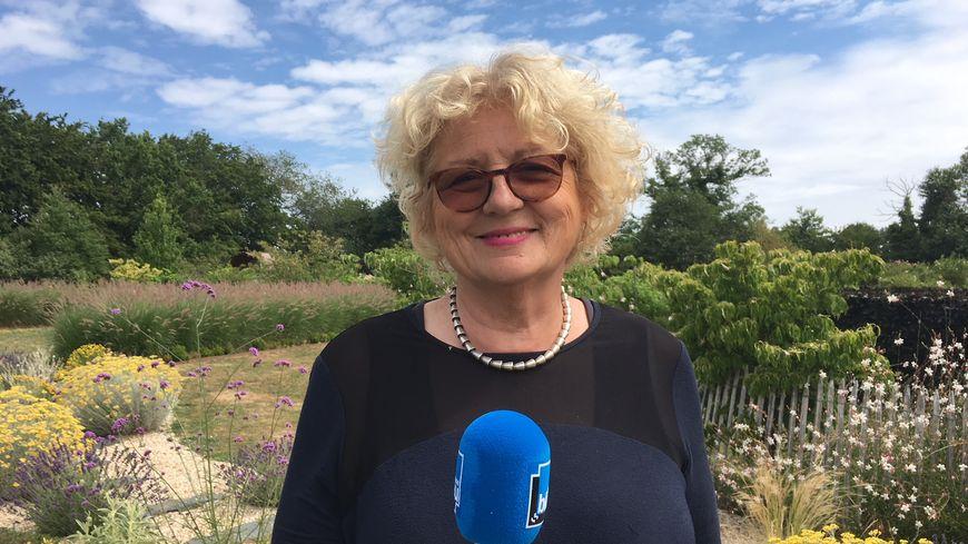 Marie Marcat présente Le jardin de Marie sur France Bleu Berry