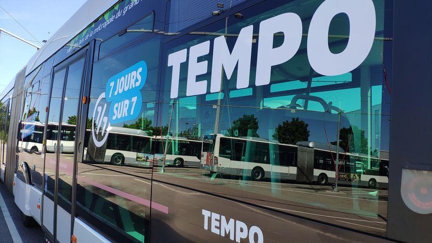 """Les quatre lignes """"Tempo"""" structurent le nouveau réseau qui entre en service lundi 26 août"""