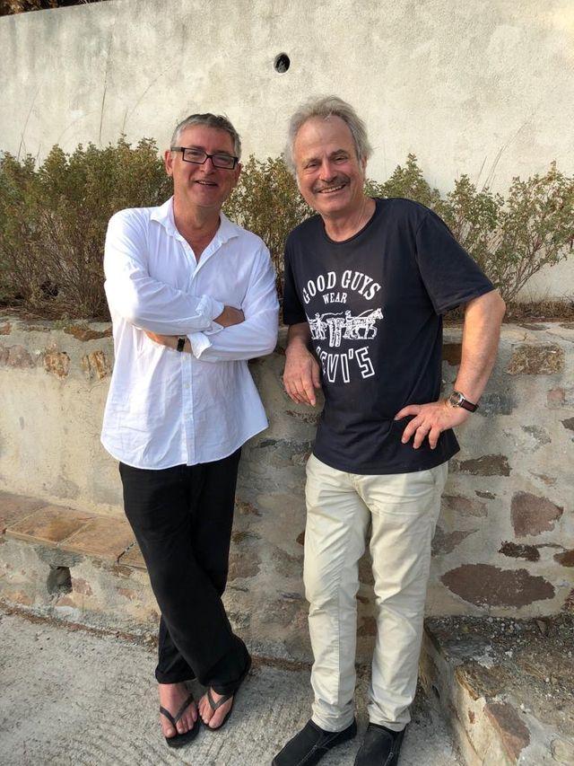 Michel Onfray et Frantz-Olivier Giesbert