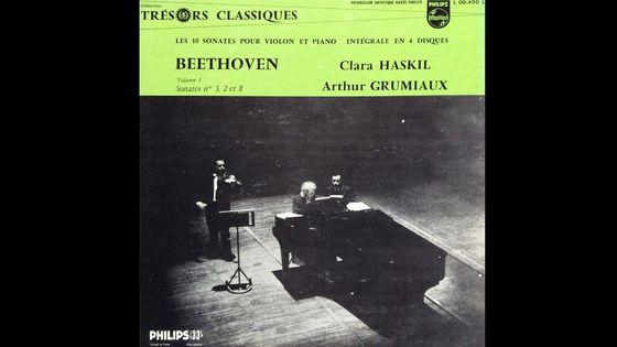 Clara Haskil & Arthur Grumiaux, Les 10 sonates pour violon et piano de Beethoven. Intégrale en 4 disques