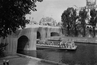 Photo du Pont Neuf le 21 septembre 1985