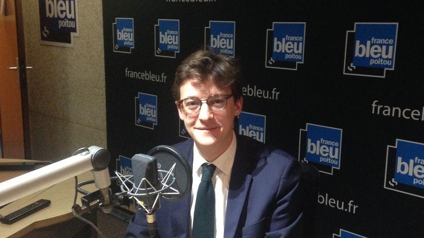 Sacha HOUILE, député LREM de la Vienne sur France Bleu Poitou