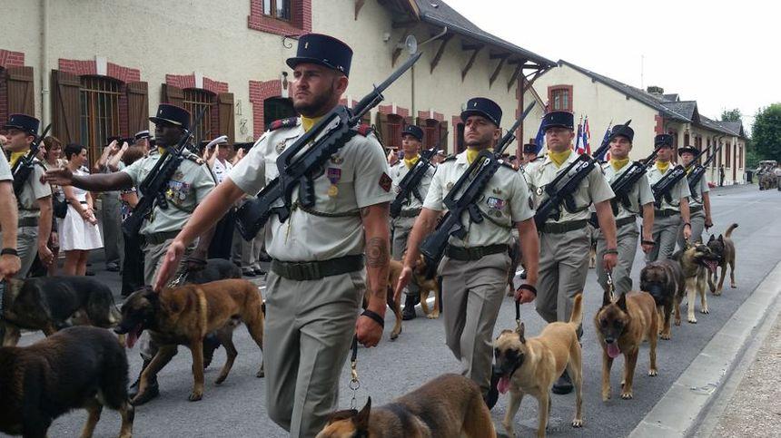 132ème bataillon cynophile