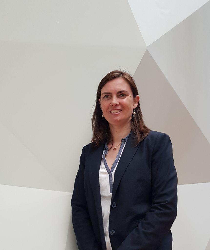 Delphine Vincent, responsable du service des publics, de la communication