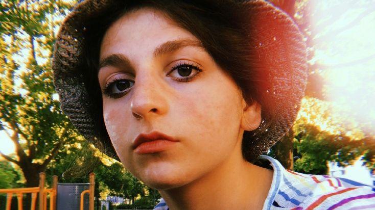 Gvantsa a 19 ans, elle vit en France depuis 2017 et se bat pour être régularisée