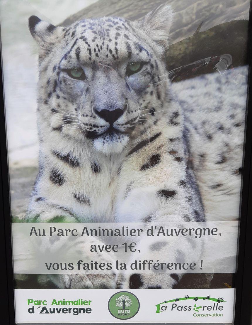 1 euro de votre billet d'entrée est reversé à une association qui protège les animaux