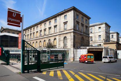 Urgences de l'hôpital de Lariboisière à Paris