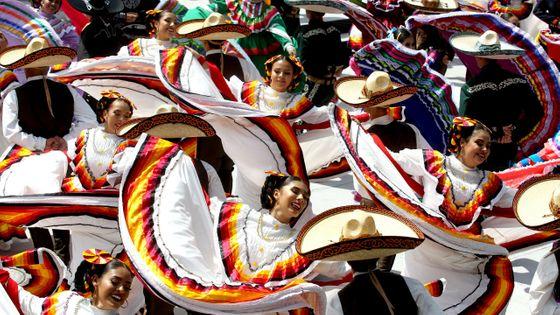 Au Mexique, 882 danseurs étaient rassemblés pour la plus grande danse folklorique au monde
