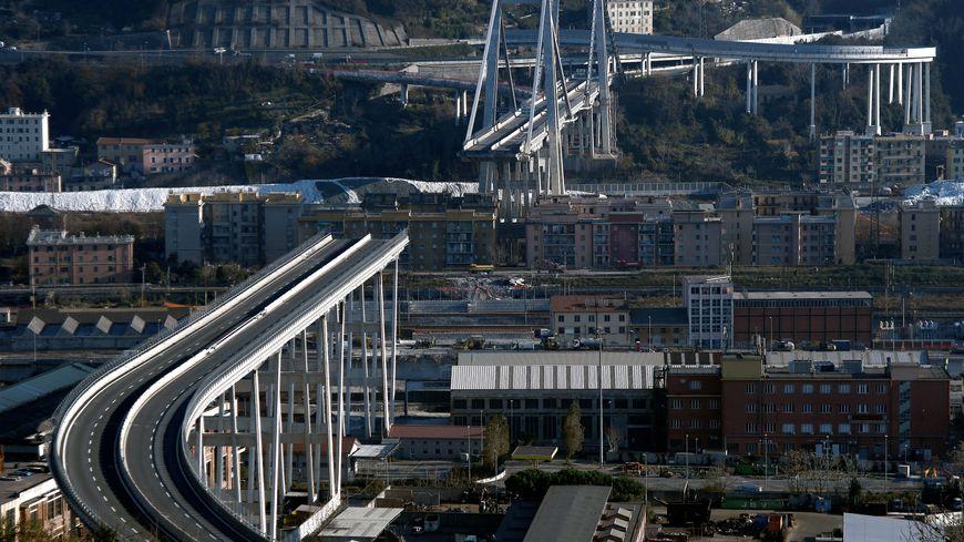 L'Italie commémore l'écroulement du pont de Gênes et ses 43 morts, un an après.