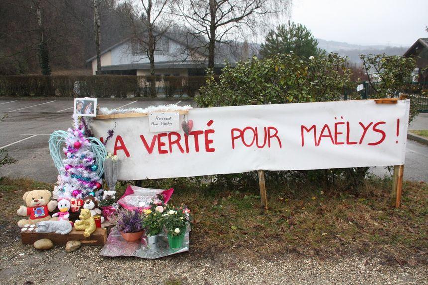 En décembre 2017, un mémorial avait été installé devant la salle des fêtes de Pont de Beauvoisin