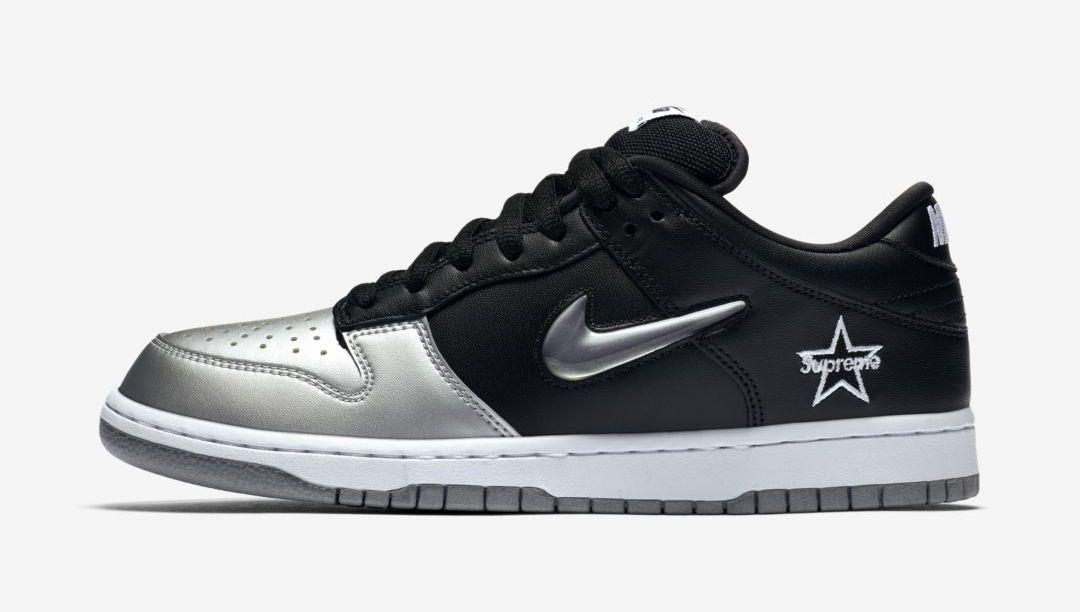 Supreme x Nike SB : les premières images de la Dunk Low sont
