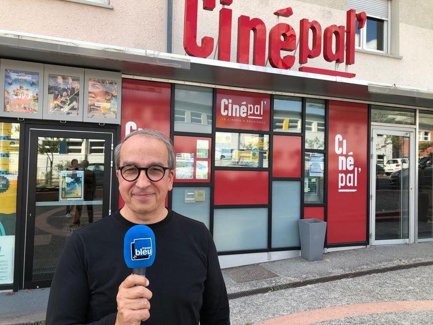 Gérard Lemoine, directeur du CinéPal' à Palaiseau