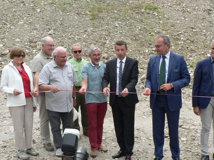 Inauguration officielle du nouveau barrage