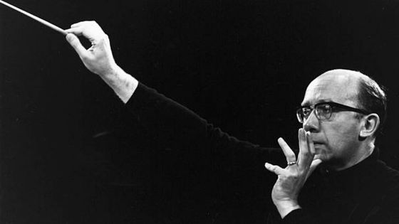 Le chef d'orchestre russe Gennadi Rozhdestvensky