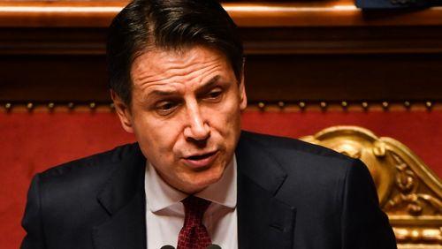 Giuseppe Conte, premier ministre Italien, démissionne