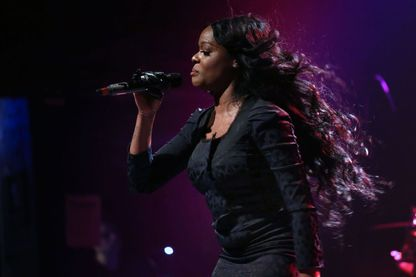 La chanteuse Azealia Banks au Phoenix Concert Théâtre, mai2019,  Toronto