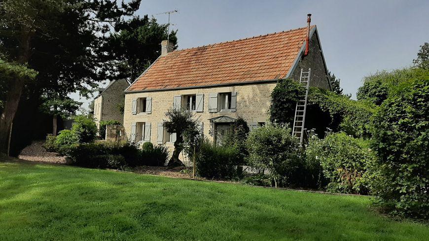 L'ancienne maison du docteur Yves Godard en août 2019