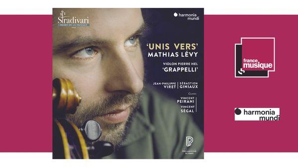 Sortie CD : Unis vers - Mathias Lévy