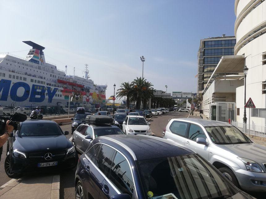 Panique dans le sens Sud-Nord à Bastia, ce samedi