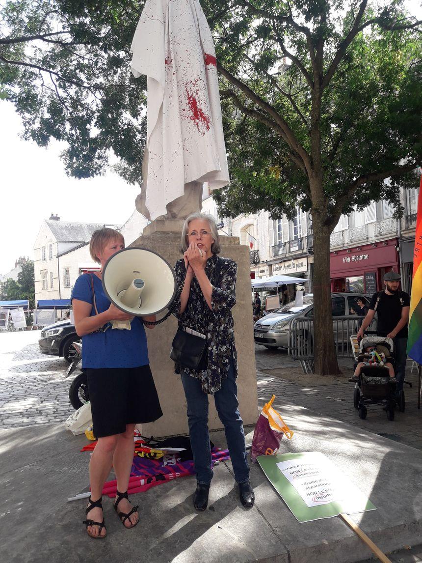 Les manifestantes craignent que le grenelle contre les féminicides prévu début septembre soit un coup de communication