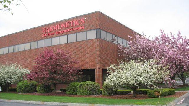 Le siège d'Haemonetics à Braintree, dans le Massachusetts (États-Unis).