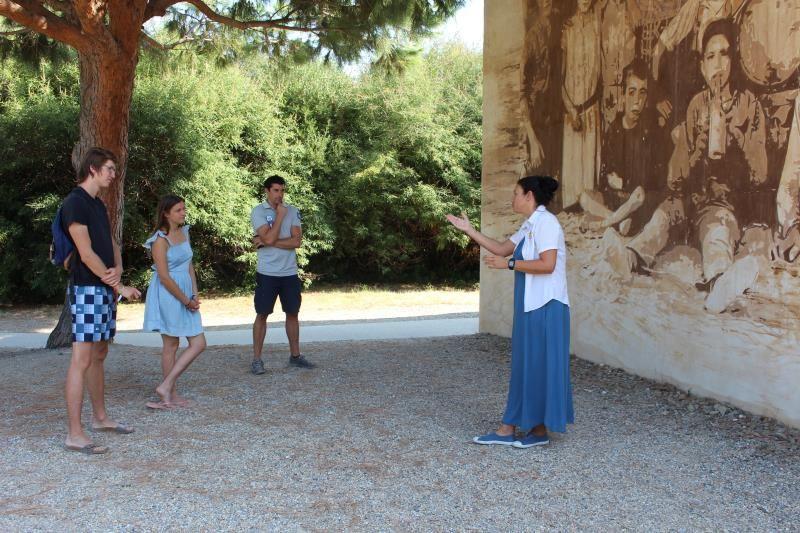 Micro-voyage d'Edith LLATAS à Paulilles