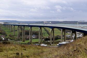 """Le viaduc autoroutier d'Echinghen a été classé parmi les deux ponts qui nécessitaient """"une intervention urgente"""""""
