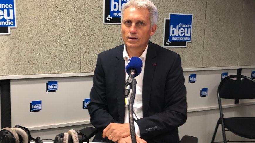 Joël Bruneau, maire (LR) de Caen et président de la communauté urbaine Caen-la-Mer