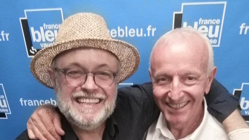 Le chef Jean-Jacques Prévôt et le vigneron Alain Ignace