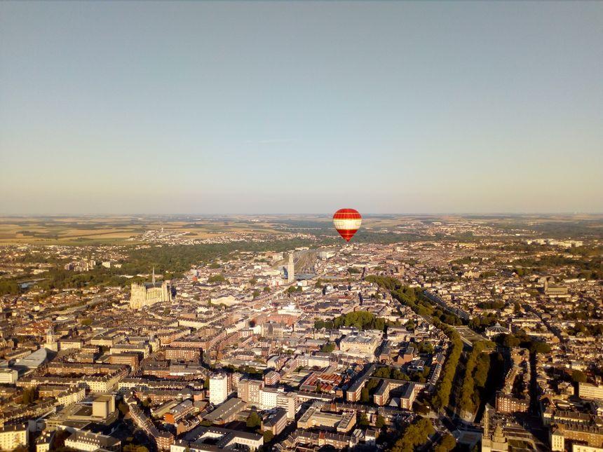 Amiens vu du ciel
