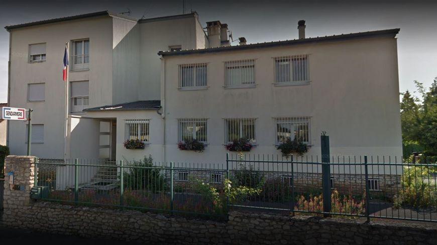 La brigade de gendarmerie de Malesherbes (photo google maps)