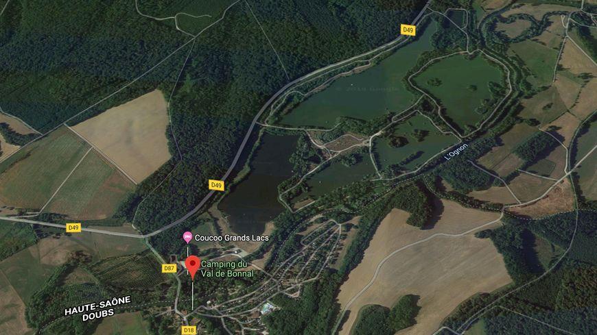 Site du Val de Bonnal en Haute-saône