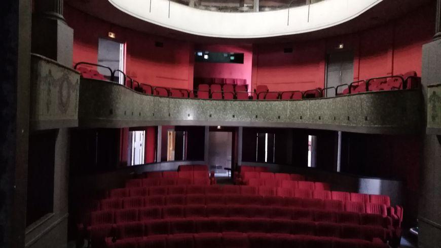Le petit théâtre n'est visible par le public que lors des journées du patrimoine.