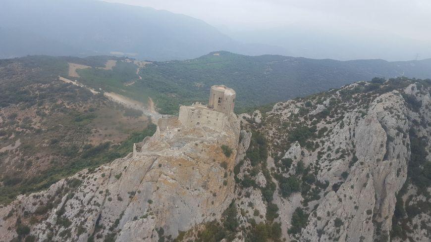 Le château cathare de Quéribus restauré