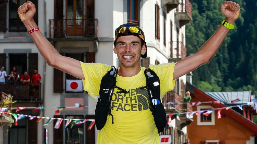 Pau Capell, vainqueur de l'Utra-Trail du Mont-Blanc 2019