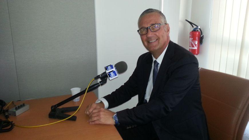 Pascal Blanc, maire de Bourges