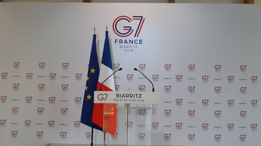 Le G7 se tient de samedi soir à lundi à Biarritz.