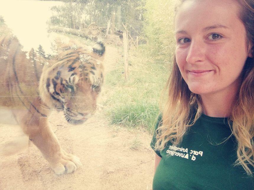 Marie Demoulin, responsable communication de Parc animalier d'Auvergne